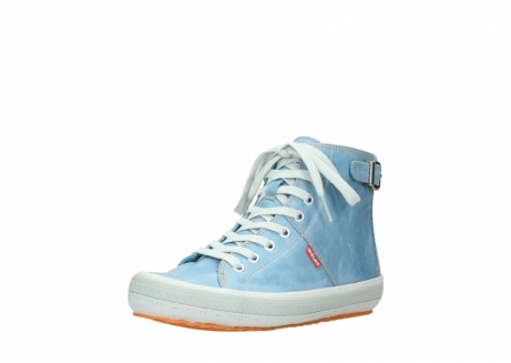 wolky lace up shoes 01225 biker 30840 jeans blue leather_22