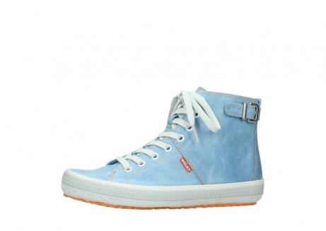 wolky lace up shoes 01225 biker 30840 jeans blue leather_24