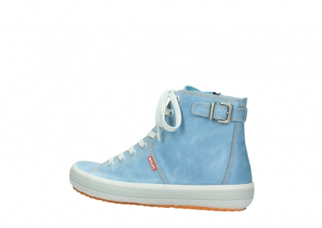 wolky lace up shoes 01225 biker 30840 jeans blue leather_3