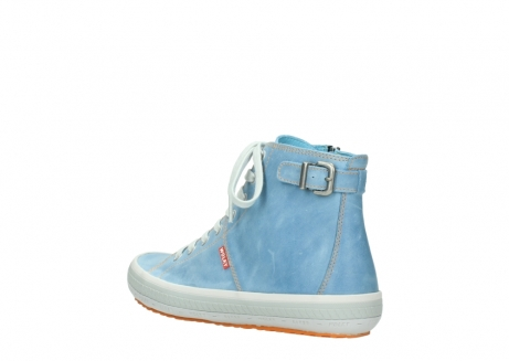 wolky lace up shoes 01225 biker 30840 jeans blue leather_4
