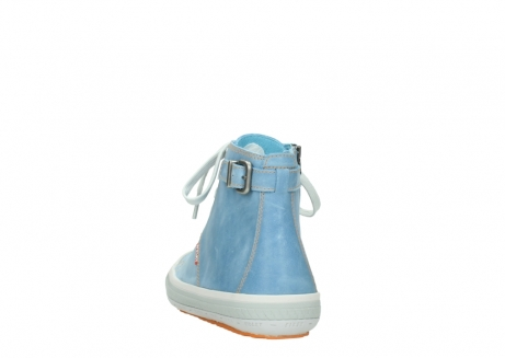 wolky lace up shoes 01225 biker 30840 jeans blue leather_6