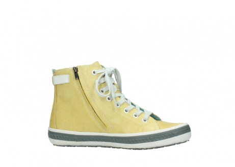 wolky lace up shoes 01225 biker 30920 light yellow leather_14