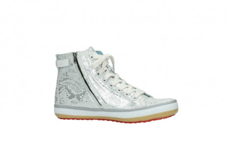 wolky lace up shoes 01225 biker 90130 silver metallic leather_14