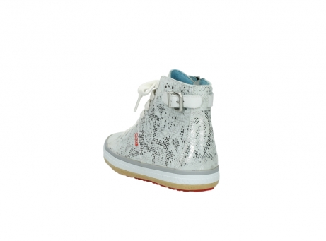 wolky lace up shoes 01225 biker 90130 silver metallic leather_5