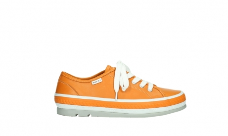 wolky lace up shoes 01230 linda 30550 orange leather_1
