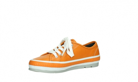 wolky lace up shoes 01230 linda 30550 orange leather_11