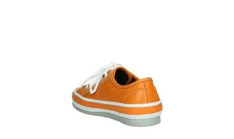 wolky lace up shoes 01230 linda 30550 orange leather_17