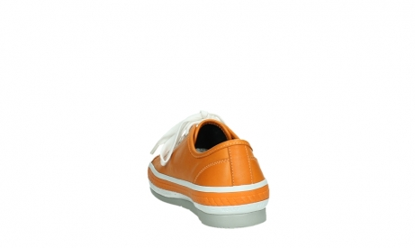wolky lace up shoes 01230 linda 30550 orange leather_18