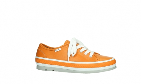 wolky lace up shoes 01230 linda 30550 orange leather_2