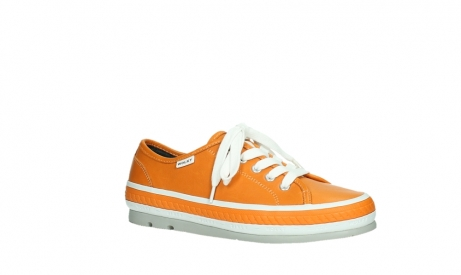 wolky lace up shoes 01230 linda 30550 orange leather_3