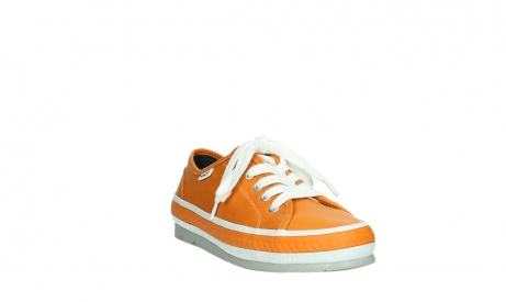 wolky lace up shoes 01230 linda 30550 orange leather_5