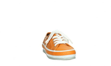wolky lace up shoes 01230 linda 30550 orange leather_6