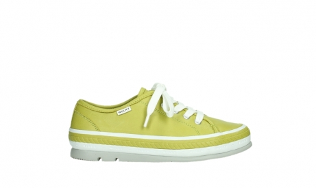 wolky lace up shoes 01230 linda 30710 olive green leather_1