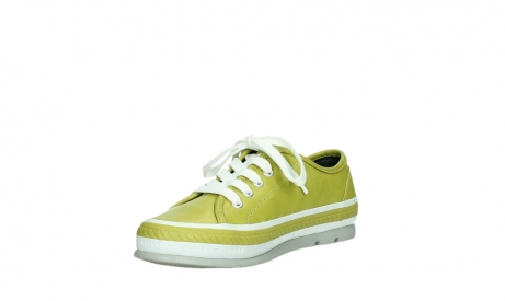 wolky lace up shoes 01230 linda 30710 olive green leather_10