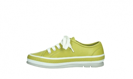 wolky lace up shoes 01230 linda 30710 olive green leather_13