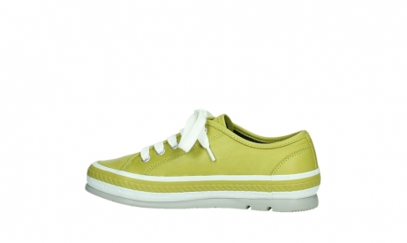 wolky lace up shoes 01230 linda 30710 olive green leather_14