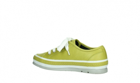 wolky lace up shoes 01230 linda 30710 olive green leather_15