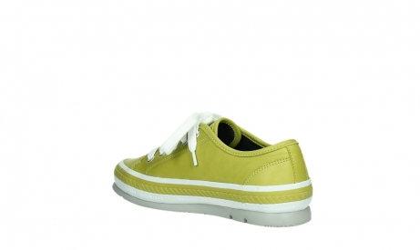 wolky lace up shoes 01230 linda 30710 olive green leather_16