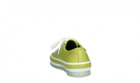 wolky lace up shoes 01230 linda 30710 olive green leather_18