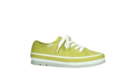 wolky lace up shoes 01230 linda 30710 olive green leather_2