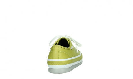 wolky lace up shoes 01230 linda 30710 olive green leather_20