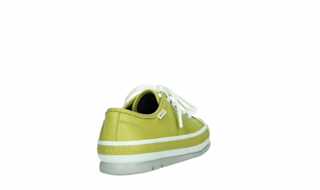 wolky lace up shoes 01230 linda 30710 olive green leather_21