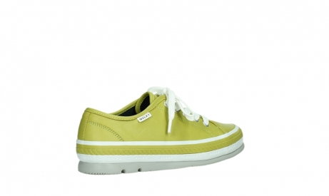 wolky lace up shoes 01230 linda 30710 olive green leather_23