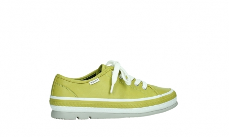 wolky lace up shoes 01230 linda 30710 olive green leather_24