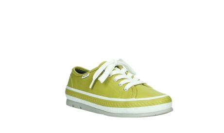wolky lace up shoes 01230 linda 30710 olive green leather_4