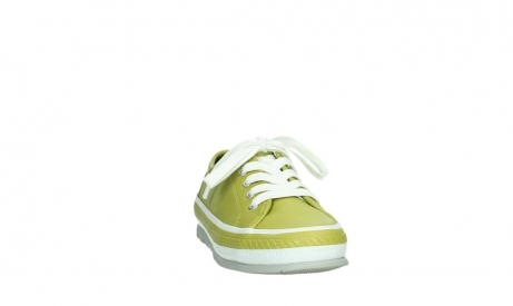 wolky lace up shoes 01230 linda 30710 olive green leather_6