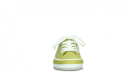 wolky lace up shoes 01230 linda 30710 olive green leather_7