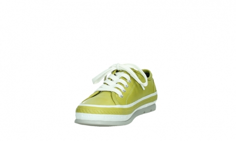 wolky lace up shoes 01230 linda 30710 olive green leather_9