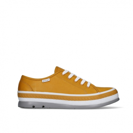 wolky lace up shoes 01230 linda 30920 ocher leather