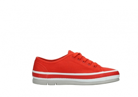 wolky lace up shoes 01230 linda 96500 red canvas_13