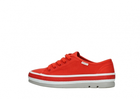 wolky lace up shoes 01230 linda 96500 red canvas_2