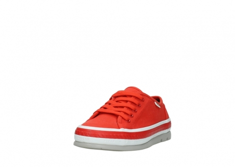 wolky lace up shoes 01230 linda 96500 red canvas_21