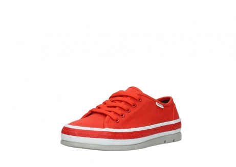 wolky lace up shoes 01230 linda 96500 red canvas_22