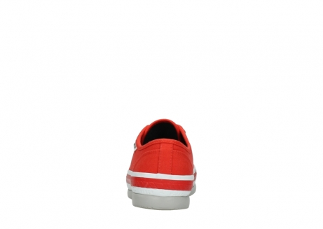 wolky lace up shoes 01230 linda 96500 red canvas_7