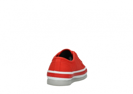 wolky lace up shoes 01230 linda 96500 red canvas_8