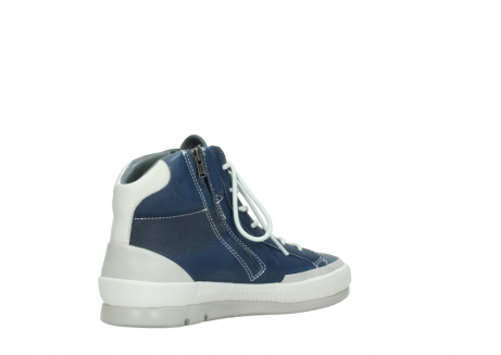 wolky lace up boots 01925 bromo 30840 jeans blue leather_10