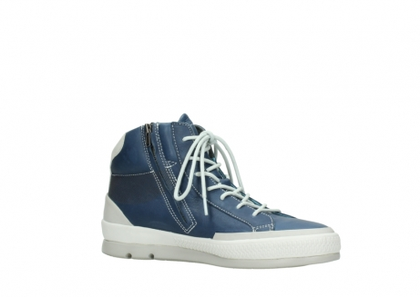 wolky lace up boots 01925 bromo 30840 jeans blue leather_15