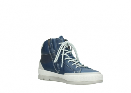 wolky lace up boots 01925 bromo 30840 jeans blue leather_16