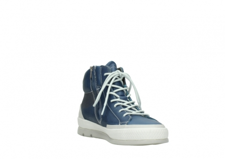 wolky lace up boots 01925 bromo 30840 jeans blue leather_17