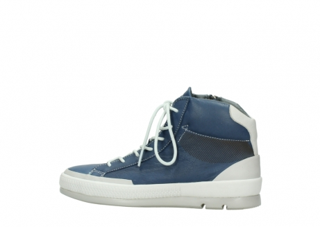 wolky lace up boots 01925 bromo 30840 jeans blue leather_2