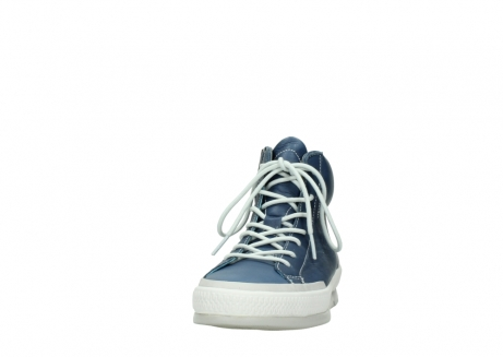 wolky lace up boots 01925 bromo 30840 jeans blue leather_20