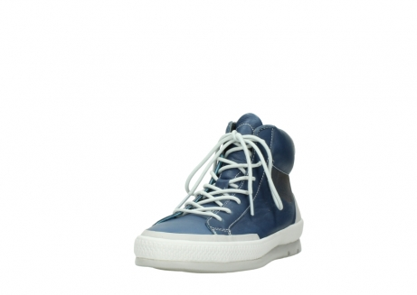 wolky lace up boots 01925 bromo 30840 jeans blue leather_21