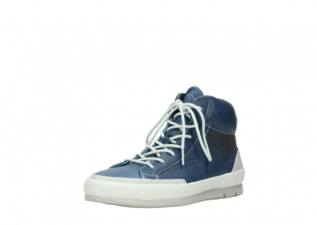 wolky lace up boots 01925 bromo 30840 jeans blue leather_22