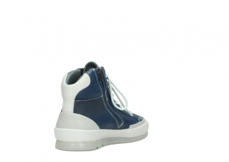 wolky lace up boots 01925 bromo 30840 jeans blue leather_9