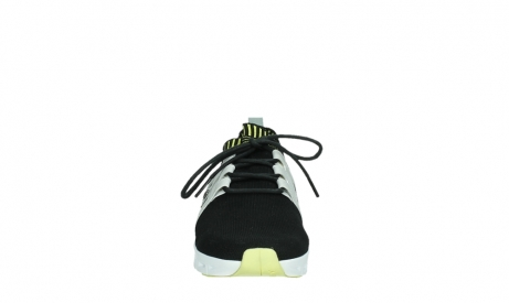 wolky lace up shoes 02052 tera 90012 black white_7