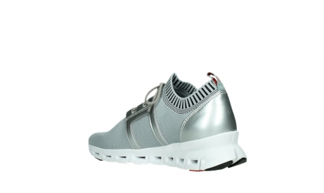 wolky lace up shoes 02052 tera 90201 silver grey leather_16